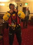Damien Grimley in his full Hornsea Inshore Rescue gear
